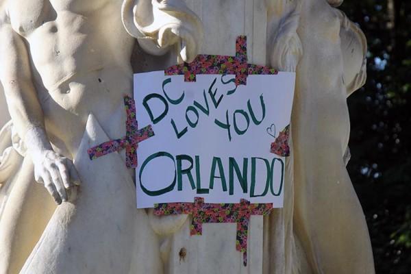 Dupont Memorial for Orlando shooting BRIEF