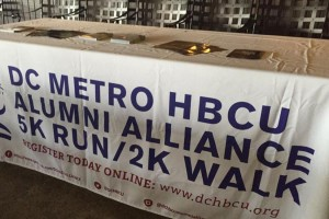 HBCU Alumni Alliance's 5K run (Photo via Facebook/DC Metro HBCU Alumni Alliance)