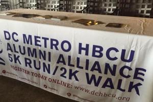 HBCU Alumni Alliance's 5K run (Photo via Facebook/DC Metro HBCU Alumni Alliance)