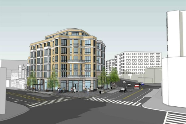 PN Hoffman's rendering for SunTrust site as of June 5, 2016 (Image via ANC 1C/PN Hoffman)