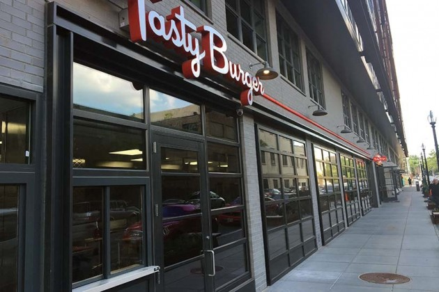 Tasty Burger is set to open at  2108 8th St. NW this month