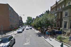 1400 block of Newton St NW, photo via Google Street View