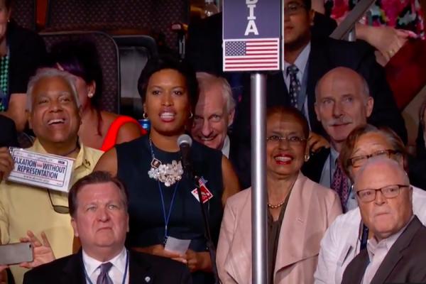 D.C. delegates at DNC