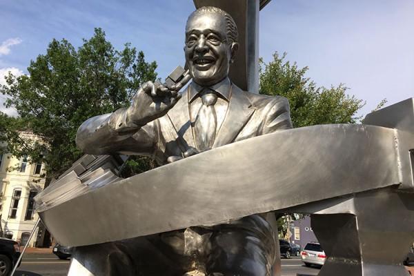 Duke Ellington statue in Shaw