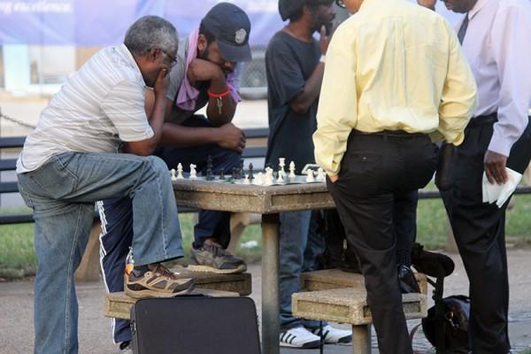 Dupont Circle chess BRIEF
