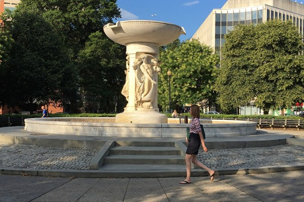 Dupont Circle dry fountain BRIEF 1