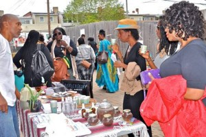 Raw Food Festival (Photo courtesy of Emergence Community Arts Collective)