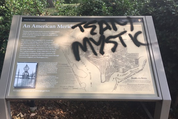 Pokemon Go vandals Meridian Hill Park