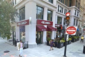 Pret a Manger at 1432 K St. NW (Photo via Google Maps)