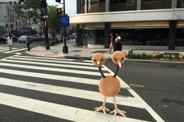 Screenshot via Pokemon Go