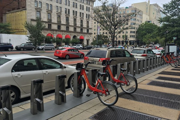 16th and K Bikeshare station