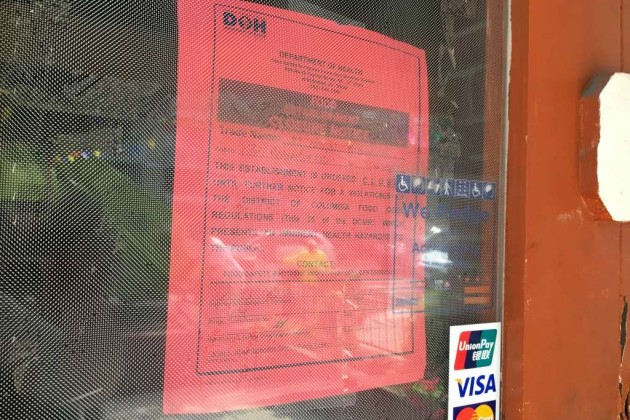 El Nuevo Migueleno closure notice