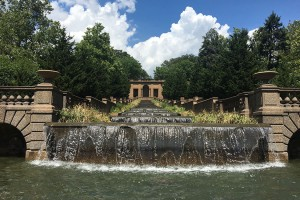 Meridian Hill Park fountain on Aug. 12, 2016