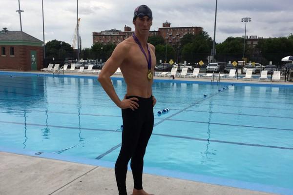 Michael Phelps Dummy at Banneker, photo via DCPR