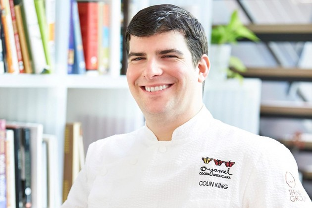 Oyamel Chef Colin King