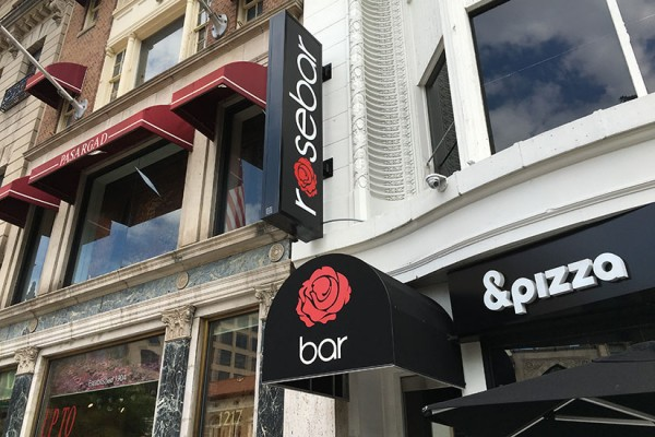 Rosebar Lounge at 1215 Connecticut Ave. NW