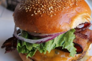 Saint Ex Burger, photo courtesy Saint Ex