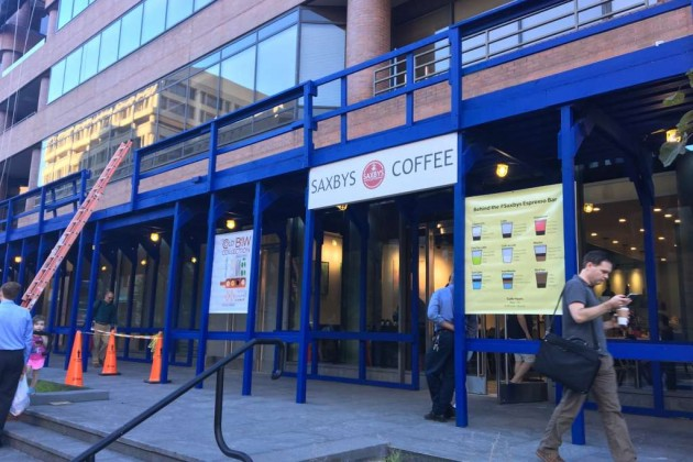 Saxbys Coffee at 1303 19th St. NW