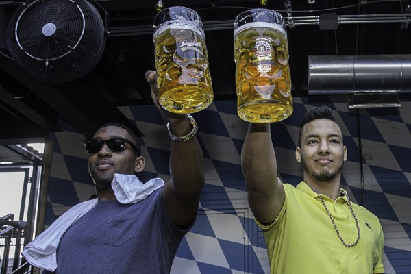 Stein hoisting competition at Saufhaus, photo by Cristi Dobrescu of CID Photos