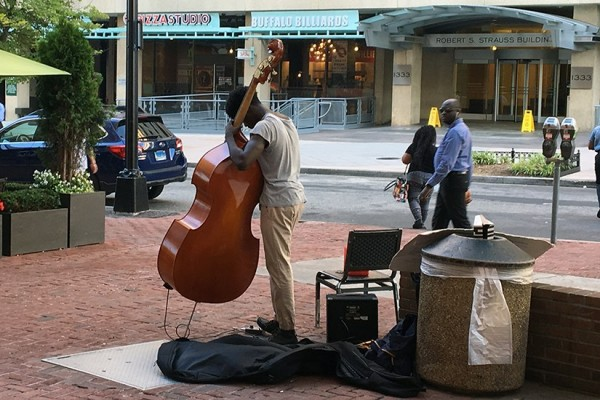 Upright bass at Dupont BRIEF 1