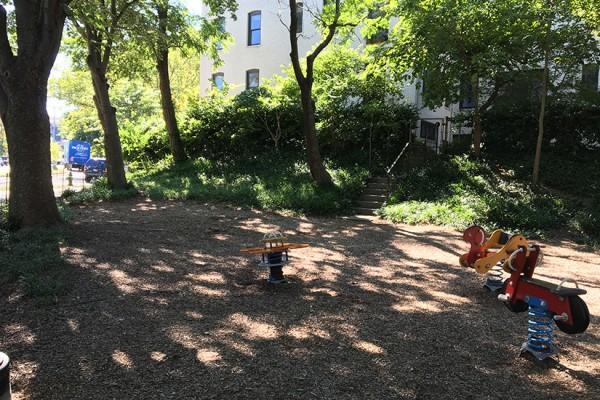 Walter Pierce Park Firetruck Gone