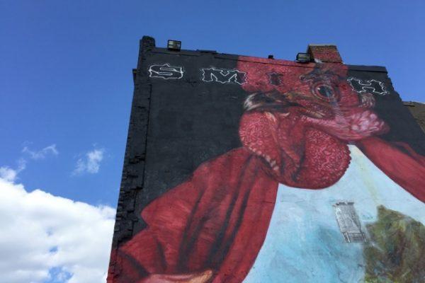 Smith Commons mural on H Street corridor