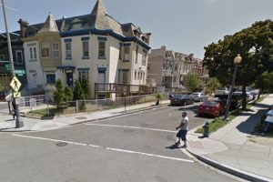 1300 block of Perry Place NW (Photo via Google Maps)