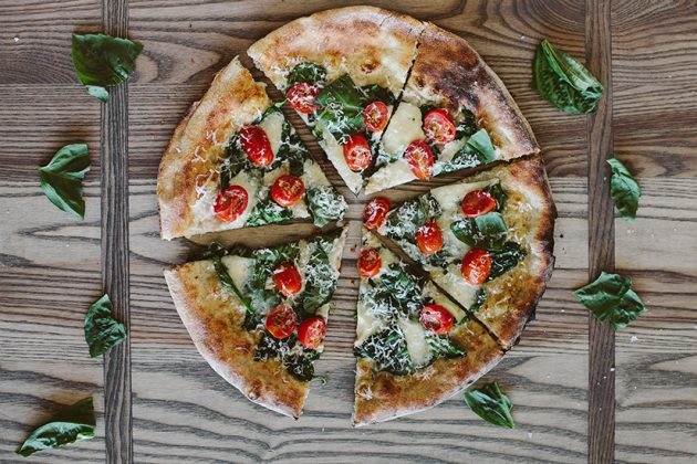 Bianco pizza, photo courtesy Modern Market