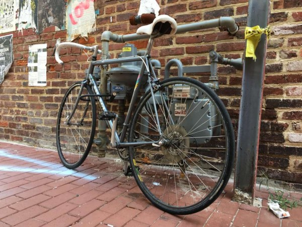 Bicycle in Blagden Alley