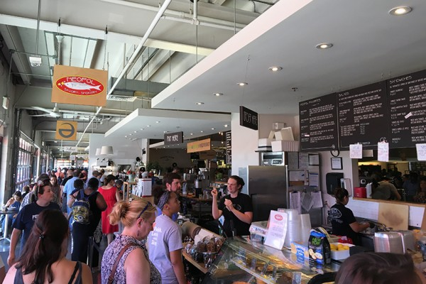 Busy Union Market