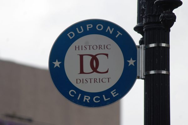 Historic Dupont Circle sign