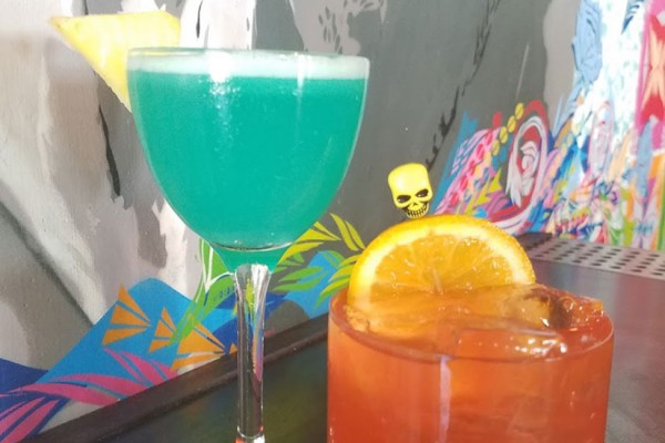 Election cocktails (Photo courtesy of Espita Mezcaleria)