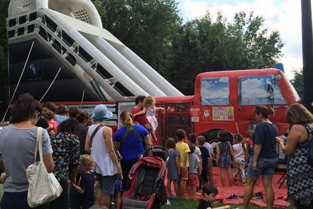 """DGS and DPR hosted a """"fun day"""" in the park yesterday"""
