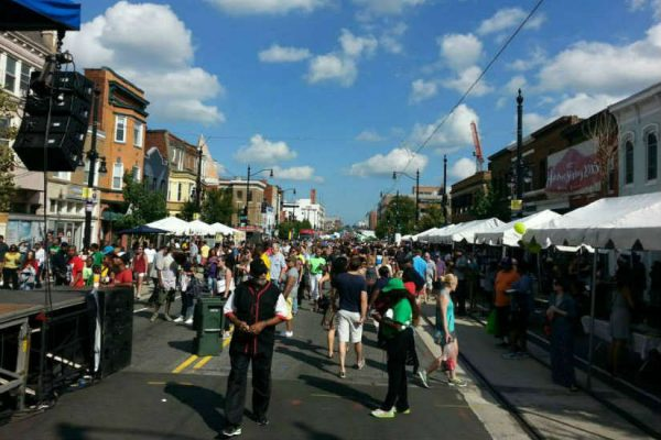 H Street Festival in 2014 (Photo via Facebook/H Street Festival)