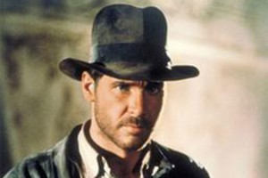 "Indiana Jones in ""Raiders of the Lost Ark"" (Photo via Wikimedia)"