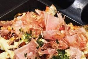 Okonomiyaki (Photo via Golden Triangle Business Improvement District)
