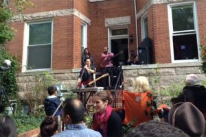 PorchFest (Photo via Facebook/Adams Morgan PorchFest)