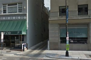 Entrance to alley on the 1200 block of 18th Street NW (Photo via Google Maps)