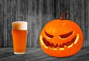 Beer and pumpkin (Photo via Twitter/The Black Squirrel)