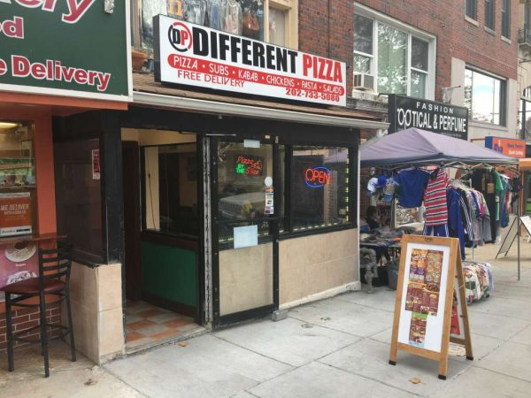 Different Pizza at at 1764 Columbia Road NW