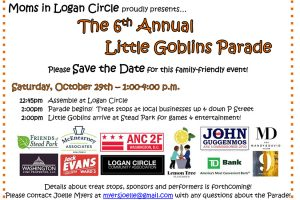 Little Goblins event flyer