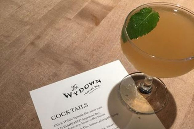 The Wydown's menu and seasonal punch