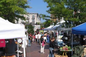 Mount Pleasant Farmers Market, photo via Wikimedia Commons
