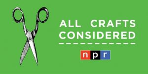 All Crafts Considered (Image via Twitter/National Public Radio)