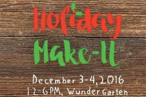 Holiday Make-It (Image via Facebook/NoMa Business Improvement District)