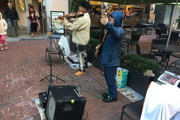 Performers at Dupont Nov. 23 2016