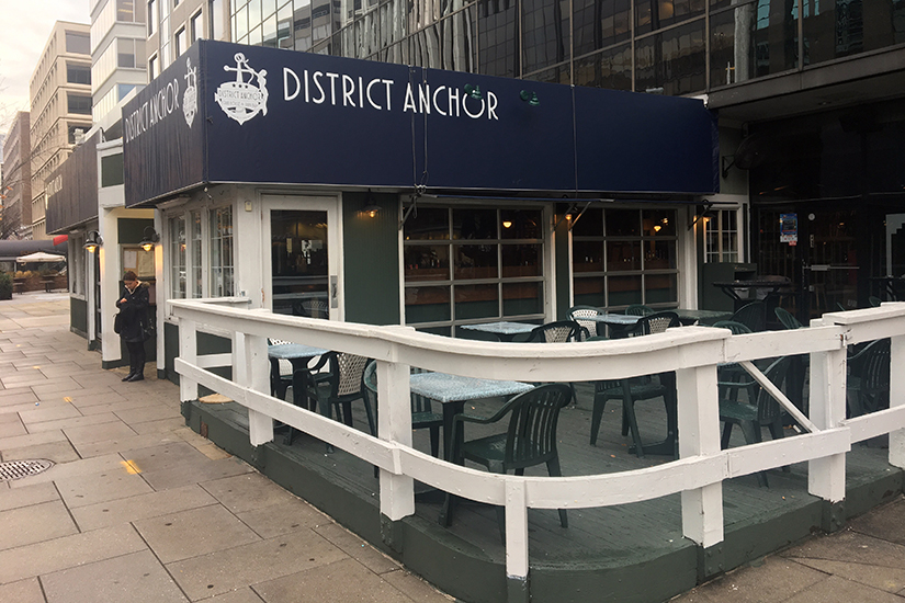Rumors Bar And Grill >> Rumors Rebrands as District Anchor on 19th Street | Borderstan