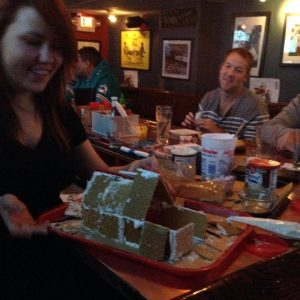 Gingerbread house photo via Twitter / Ventnor Sports Cafe