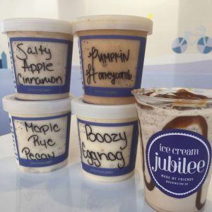 Milkshakes and flavors, photo courtesy of Ice Cream Jubilee