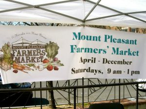 Mount Pleasant Farmers' Market (Photo via Facebook/Mount Pleasant Farmers' Market)